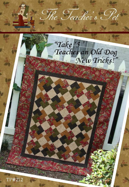 The Teacher's Pet Design Quilt Patterns Best Take 5 Quilt Pattern